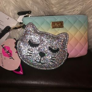 Luv Betsey by Betsey Johnson Wristlet Coin Purse